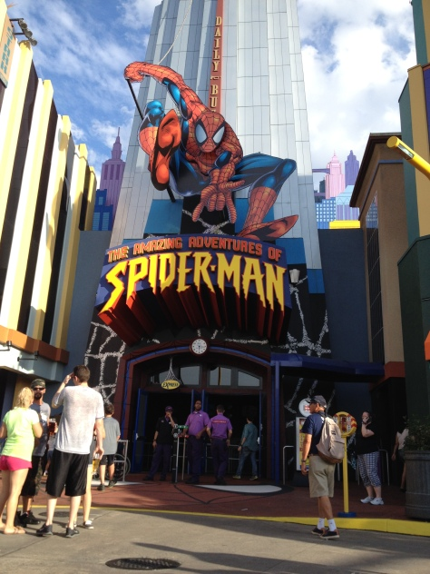 Spiderman ride!