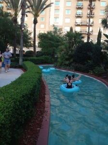 Lazy River at the Omni Orlando Resort
