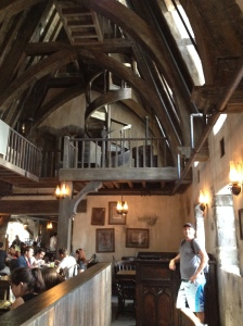 Inside of Three Broomsticks